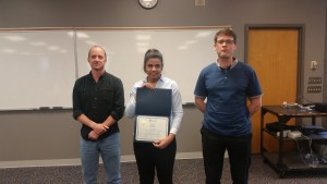 Nadeen wins top presentation in Ecology